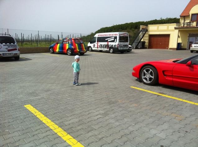 Které auto si chlapeček vybere?