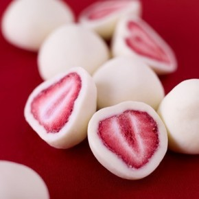 Jahody v jogurtu