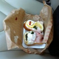 Oběd po cestě, no comment ;-)