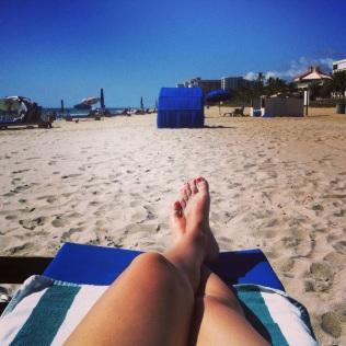 Letní den na pláži