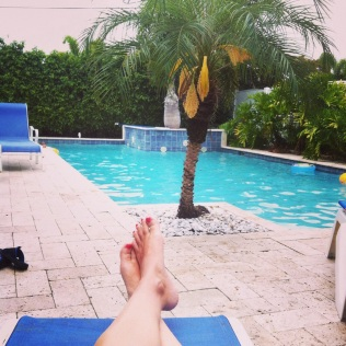 Další zase u bazénu :-)
