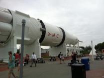 Obří raketa Saturn
