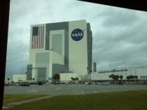 Budova, kde se staví raketoplány