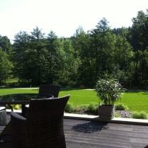 Snídaně na terase ;-)