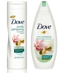 Dove Purely Pampering, source: Unilever.cz