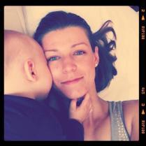 Nejsladší pusa od miminka... ;-) xoxo