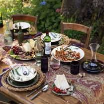 K našemu teakovému nábytku by šlo nejlíp to olivové nádobí