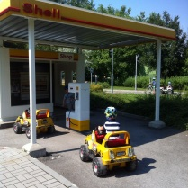 Je tu i benzínka