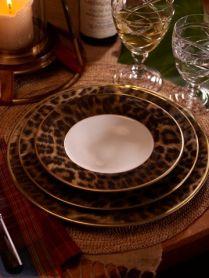 Porcelán s leopardím vzorem - Ralph Lauren
