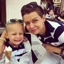 S Juniorem na zmrzlince a krásné rodinné odpoledne v centru Prahy