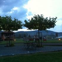 Večerní pohoda na terase