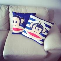 Opičkové polštáře :-)