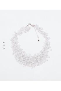 Zara; obří náhrdelník JO!;