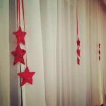 Hvězdičky v oknech
