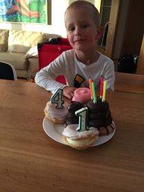 Druhá oslava narozenin obou kluků