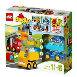 LEGO Duplo 10816 - Moje první autíčka a náklaďáky
