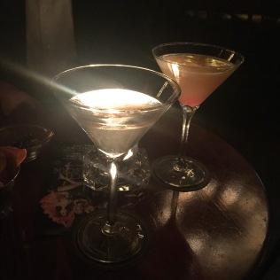 První koktejly
