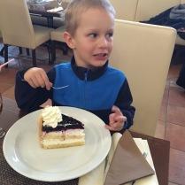 Junior a jeho dort