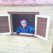 Zahradní domeček pro děti